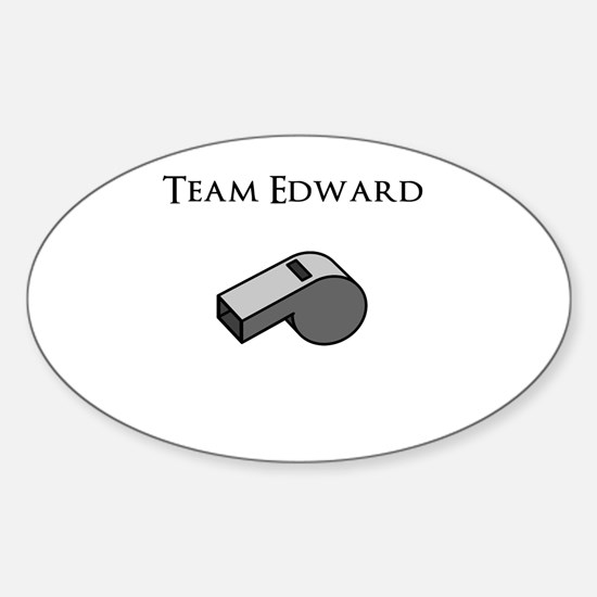 Team Edward with Whistle Decal