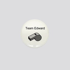Team Edward with Whistle Mini Button (10 pack)