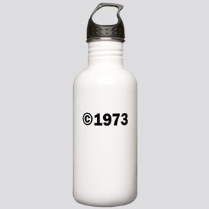 COPYRIGHT 1973 Water Bottle