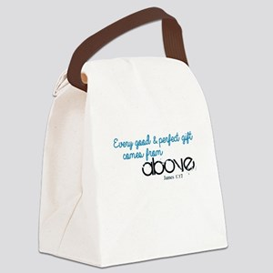 Every Good Perfect Gift comes From Above Canvas Lu