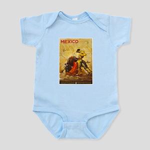Vintage Mexico Bullfight Travel Body Suit