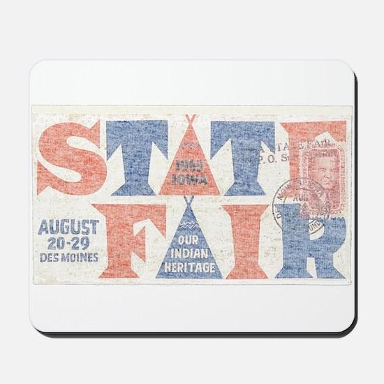 Vintage Iowa State Fair Mousepad