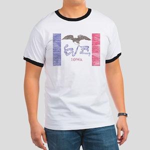 Iowa Vintage State Flag T-Shirt