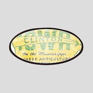 Vintage Clinton Iowa Patches