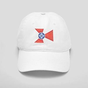 Vintage Wichita Kansas Flag Baseball Cap