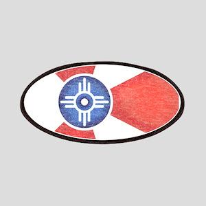 Vintage Wichita Kansas Flag Patches