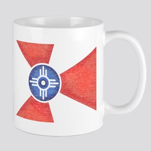 Vintage Wichita Kansas Flag Mug