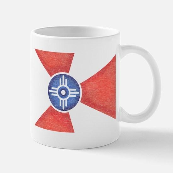 Vintage Wichita Kansas Flag Mug