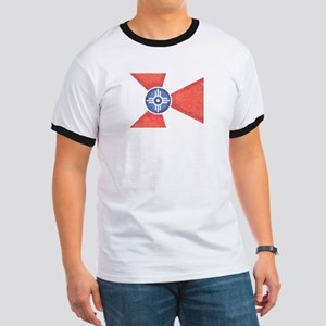 Vintage Wichita Kansas Flag T-Shirt