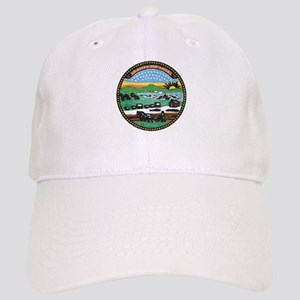 Kansas Vintage State Flag Baseball Cap