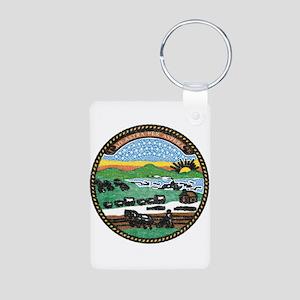 Kansas Vintage State Flag Keychains