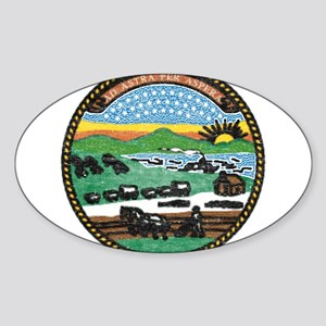 Kansas Vintage State Flag Sticker