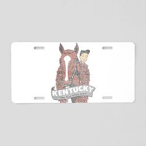 Vintage Kentucky Derby Aluminum License Plate
