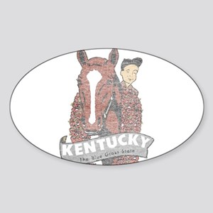 Vintage Kentucky Derby Sticker