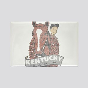 Vintage Kentucky Derby Rectangle Magnet