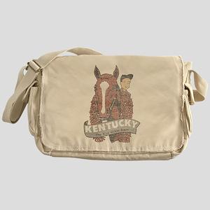 Vintage Kentucky Derby Messenger Bag