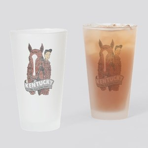Vintage Kentucky Derby Drinking Glass