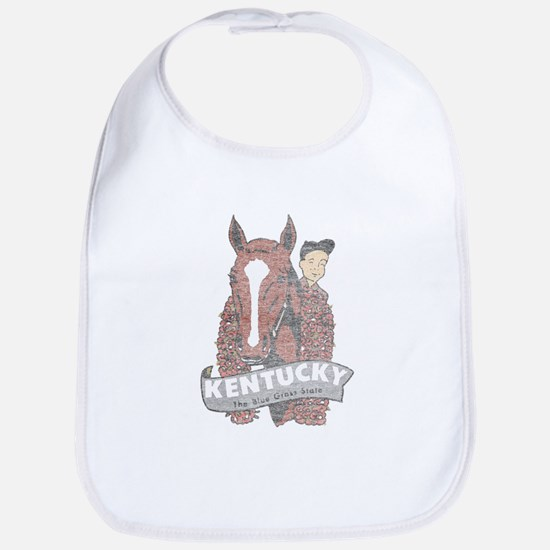Vintage Kentucky Derby Bib