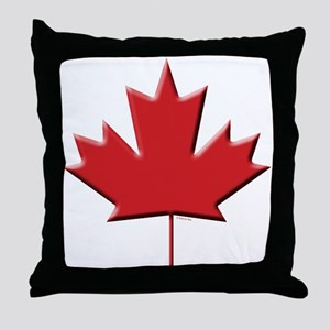 Canada: Maple Leaf Throw Pillow