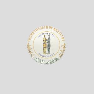 Kentucky Vintage State Flag Mini Button