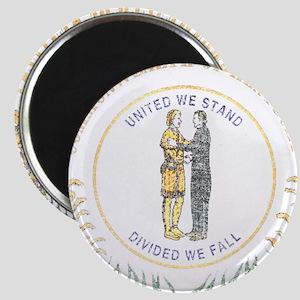 Kentucky Vintage State Flag Magnet