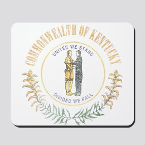 Kentucky Vintage State Flag Mousepad