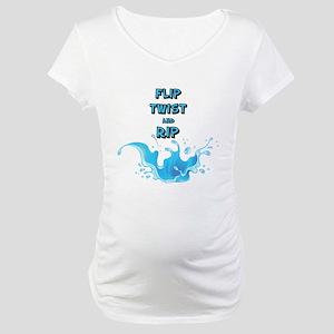 Flip, Twist and Rip Maternity T-Shirt
