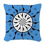 OYOOS Blue Moon design Woven Throw Pillow