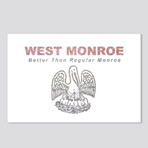 Faded West Monroe Postcards (Package of 8)