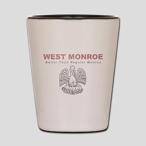 Faded West Monroe Shot Glass