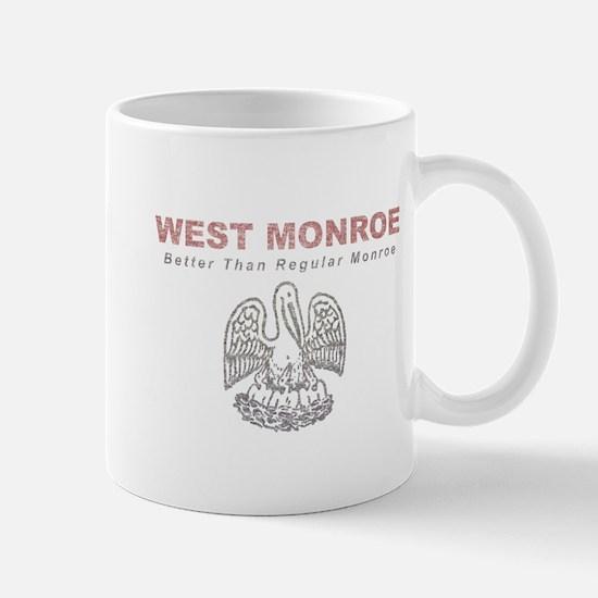 Faded West Monroe Mug