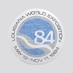 1984 Worlds Fair Ornament (Round)