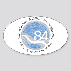 1984 Worlds Fair Sticker