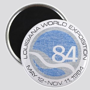 1984 Worlds Fair Magnet