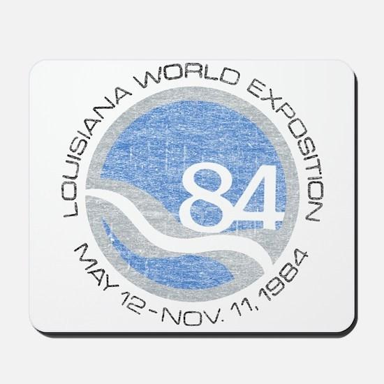 1984 Worlds Fair Mousepad