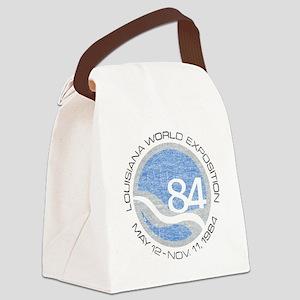 1984 Worlds Fair Canvas Lunch Bag