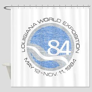 1984 Worlds Fair Shower Curtain