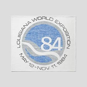 1984 Worlds Fair Throw Blanket