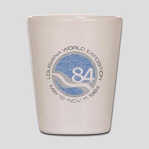 1984 Worlds Fair Shot Glass