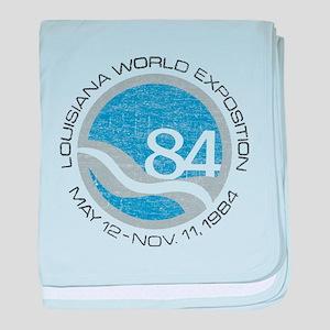 1984 Worlds Fair baby blanket