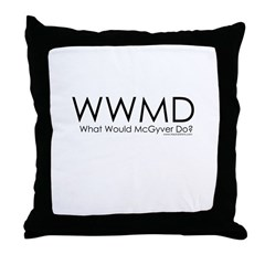 What Would McGyver Do? Throw Pillow