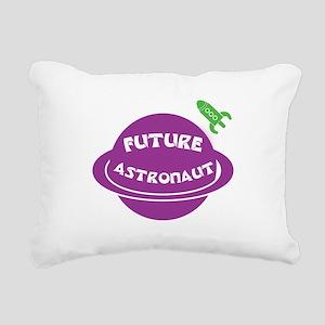Future Astronaut Rectangular Canvas Pillow