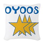 OYOOS Stars design Woven Throw Pillow