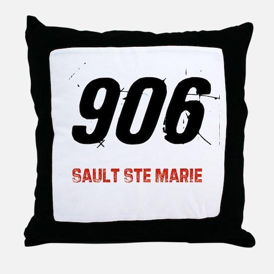 906 Throw Pillow