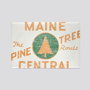 Pine Tree Route Rectangle Magnet