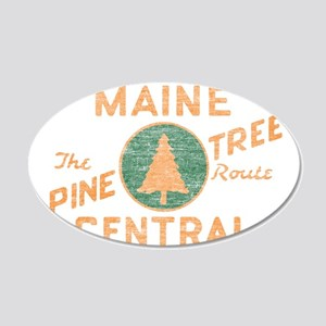 Pine Tree Route Wall Decal