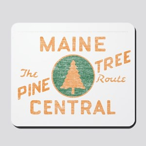 Pine Tree Route Mousepad
