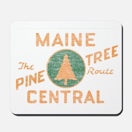 Pine Tree Route Mousepad