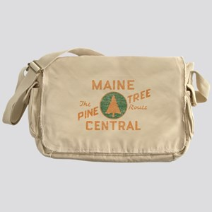 Pine Tree Route Messenger Bag