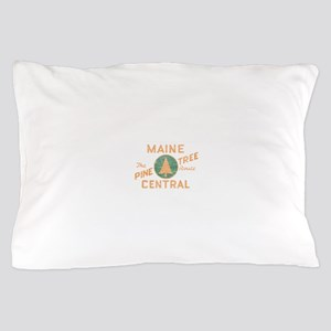 Pine Tree Route Pillow Case